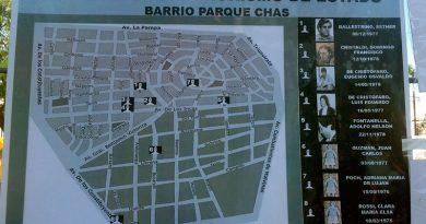 Parque Chas tuvo su jornada por la memoria