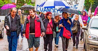 Recordaron a los fallecidos en Saavedra por las inundaciones de 2013