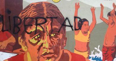 Repudio a la vandalización de un mural de Milagro Sala