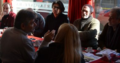 Daniel Filmus se reunió con medios barriales