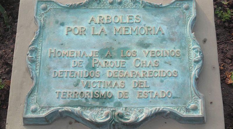 Descubrirán las placas que recuerdan a los vecinos desaparecidos