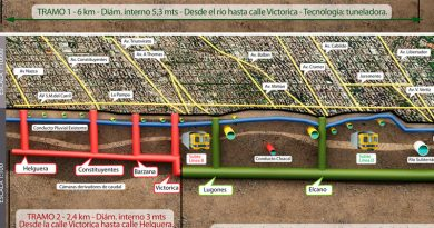 Llegó la tuneladora para las obras del Arroyo Vega