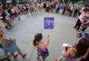 Marea feminista en Parque Chas
