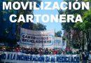 Movilización cartonera a favor del reciclado