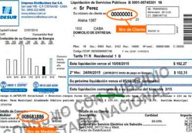 Multan a EDESUR por liquidar facturas a vivienda sin suministro eléctrico