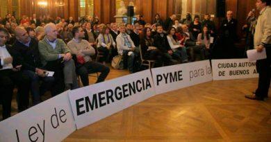 Pymes reclamaron una ley de emergencia del sector