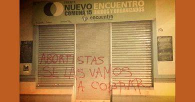 Atacaron locales de Nuevo Encuentro en Villa Crespo y Palermo