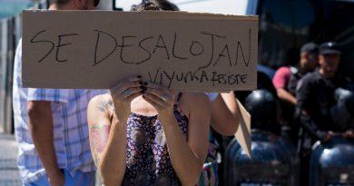 Violento desalojo de la Asamblea de Villa Urquiza
