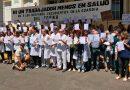 Abrazo simbólico al Tornú contra el achicamiento del servicio de guardia