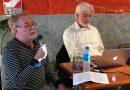 """Ariel Garbarz en Coghlan: """"Ante la manipulación del poder en las redes, hay que militar con los celulares""""."""