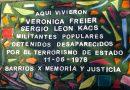 Colocarán una baldosa en memoria de dos militantes desaparecidos de Parque Chas