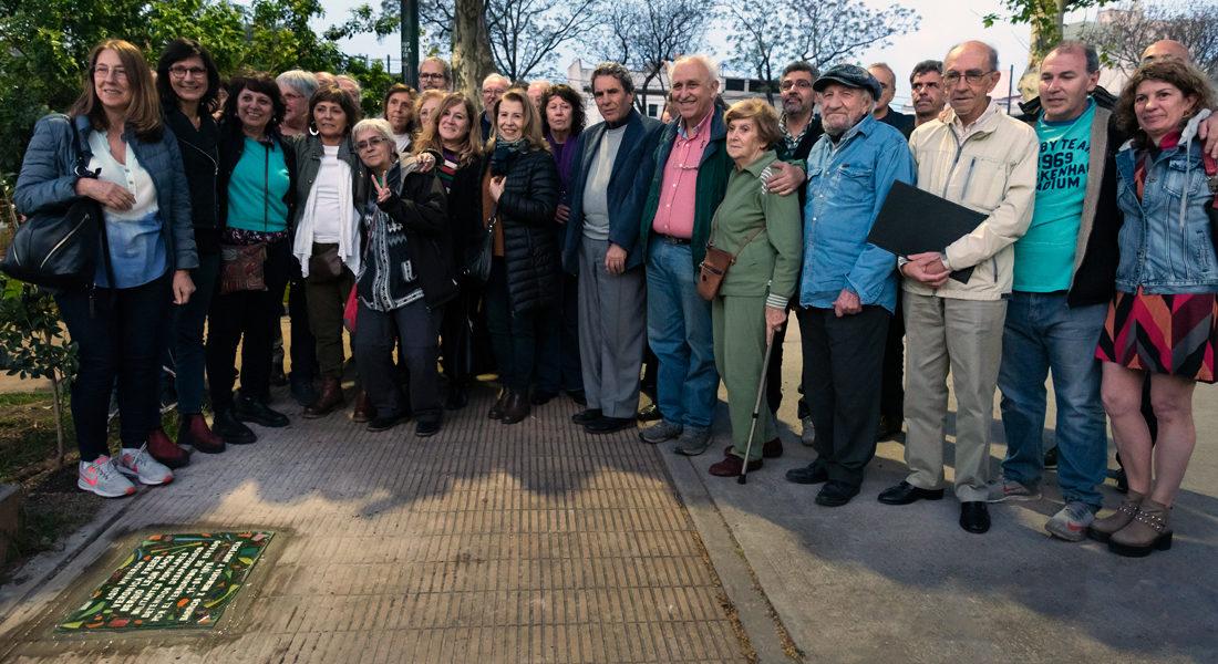 Verónica Freier y Sergio León Kacs fueron recordados en Parque Chas