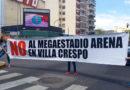 Villa Crespo: Vecinos realizarán un corte de calle contra el Megaestadio Arena