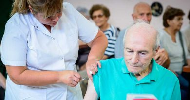 Habilitarán 80 lugares para el plan de vacunación antigripal destinado a adultos mayores