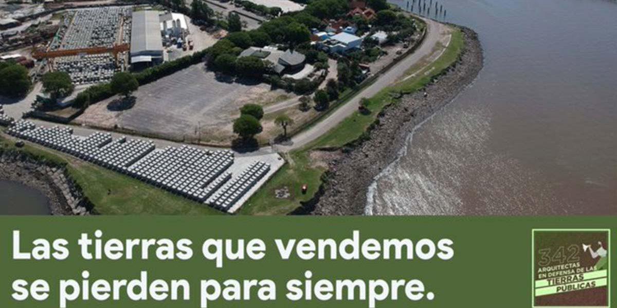 Caravana y bicicleteada contra la privatización de tierras en Costanera Norte