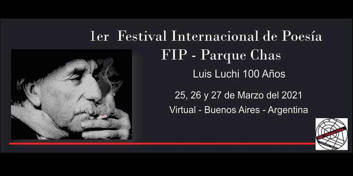 """Llega el Primer Festival Internacional de Poesía """"FIP Parque Chas"""""""