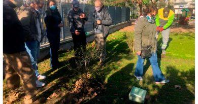 Parque Chas: Colocaron placas en homenaje a tres militantes desaparecidos